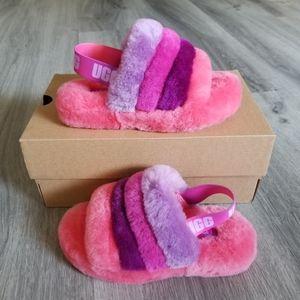 UGG Kids Fluff Yeah Slide Slippers